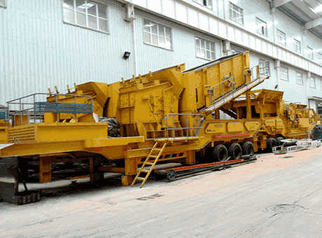 Mobile Crushing Plant And Screening Plant  Large Capacity